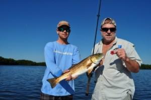 Capt. Jason Dozier putting Clients on fish!