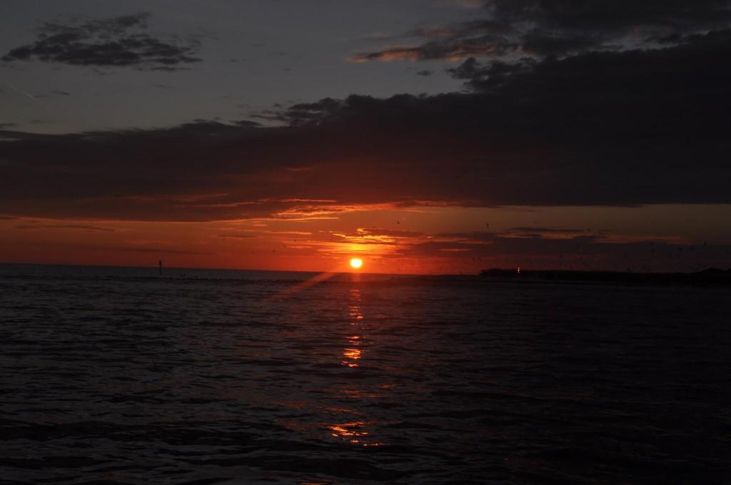 Fishnfl.com Sunset from Capt. Jason Boat