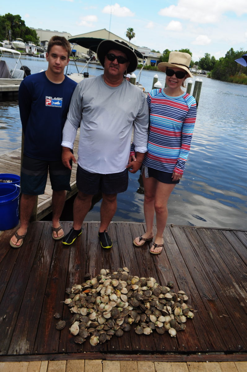 Homosass,Fl. Scalloping