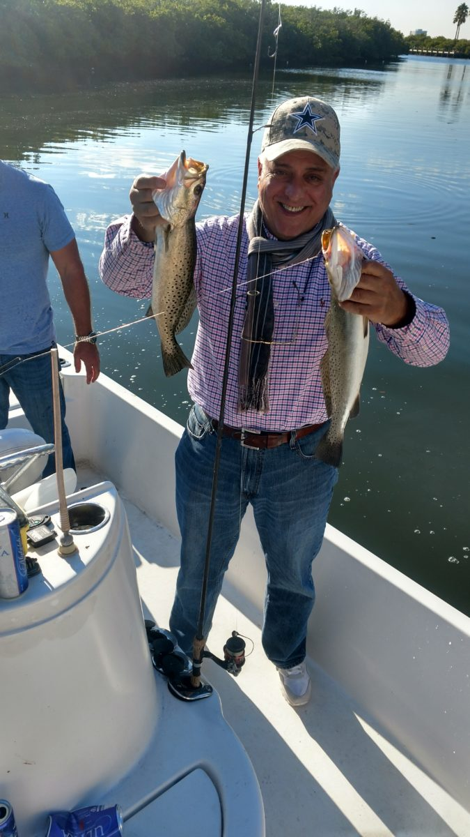 December 1 2016 tampa fishing report capt jason dozier for Tampa bay fishing report