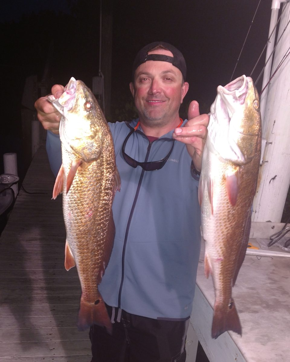 upper slot Redfish